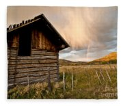 Evening Storm Fleece Blanket