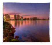 Evening Warmth Fleece Blanket