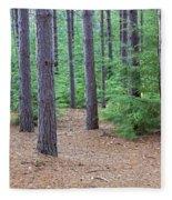 Evergreen Forest Fleece Blanket