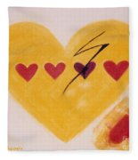 Every Third Heart Gets Broken Fleece Blanket