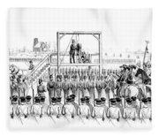 Execution Of John Brown, American Fleece Blanket