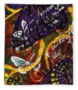 Exotic Butterflies I Fleece Blanket