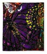 Exotic Butterflies II Fleece Blanket
