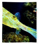 Exotic Fish Fleece Blanket