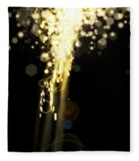 Explosion Of Lights Fleece Blanket