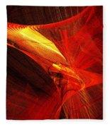 Explosive Dance Fleece Blanket