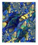 Exquisitely Blue Fleece Blanket