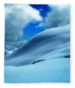 Eye Catcher In The Snow Fleece Blanket