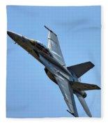F-18 Hornet Fleece Blanket