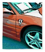 F355 Spider Fleece Blanket