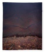 Face Of The Lake Fleece Blanket