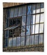 Factory Air In New Orleans Fleece Blanket