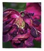 Fading Bloom Fleece Blanket