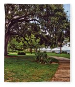 Fairhope Lower Park 2 Fleece Blanket