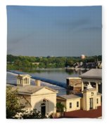 Fairmount Waterworks And Dam Fleece Blanket