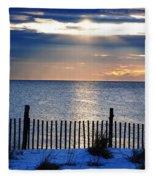 Hope Is On The Horizon Fleece Blanket