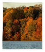 Fall Abounds Fleece Blanket