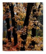 Fall Beckons  Fleece Blanket