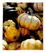 Fall Bounty Fleece Blanket