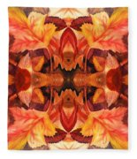 Fall Decor Fleece Blanket