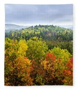 Fall Forest Fleece Blanket