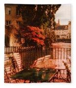 Fall In Lucerne Switzerland Fleece Blanket