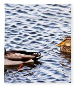 Fall Millards Swiming Fleece Blanket
