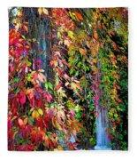 Fall Palette Fleece Blanket