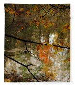 Fall River Branches Fleece Blanket