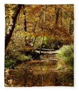 Fall River Colors Fleece Blanket