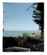 Fallen For Lake Tahoe Fleece Blanket