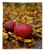 Fallen Fruit Fleece Blanket