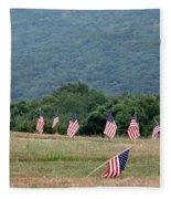 Fallen Soliders Fleece Blanket