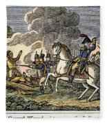 Fallen Timbers Battle Fleece Blanket