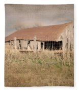 Falling Down Fleece Blanket
