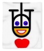 Falling In Love Fleece Blanket