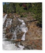 Falling Water Glen Alpine Falls Fleece Blanket