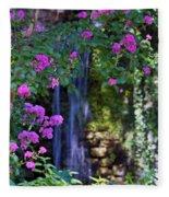 Falling Water Fleece Blanket