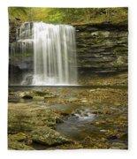 Falls Panorama Fleece Blanket
