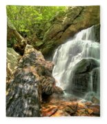 Falls Through The Rocks Fleece Blanket
