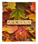Family-autumn Inpsireme Fleece Blanket
