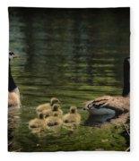 Family Outing Fleece Blanket