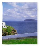 Fanad Head Lighthouse, Co Donegal Fleece Blanket