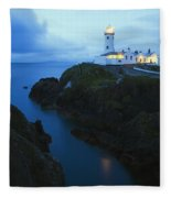 Fanad Head Lighthouse, County Donegal Fleece Blanket
