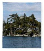 Fanette Island Tea Party Fleece Blanket