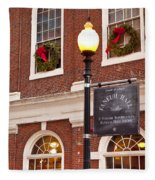 Faneuil Hall Fleece Blanket