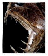 Fangtooth Fish Fleece Blanket