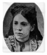 Fanny Jackson Coppin, African-american Fleece Blanket