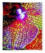 Fantasy Orchid 1 Fleece Blanket
