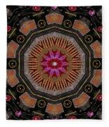 Fantasy Orchid Art Fleece Blanket